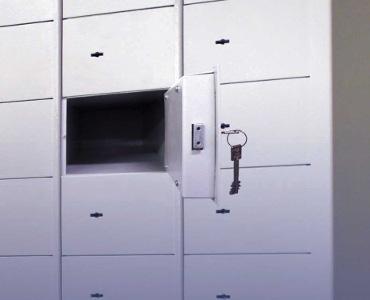Schließfachanlagen-Kassenladen